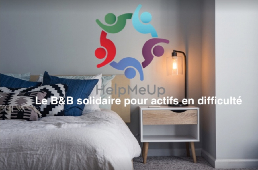 Help me up, le B&B solidaire